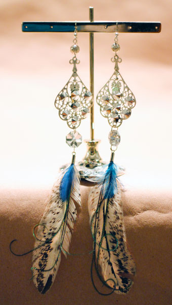 Rooster_Wild_Peacock_Crystal_Earrings-