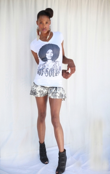 Graphic-Tee_Afro-Girl_Got-Soul_BW_II