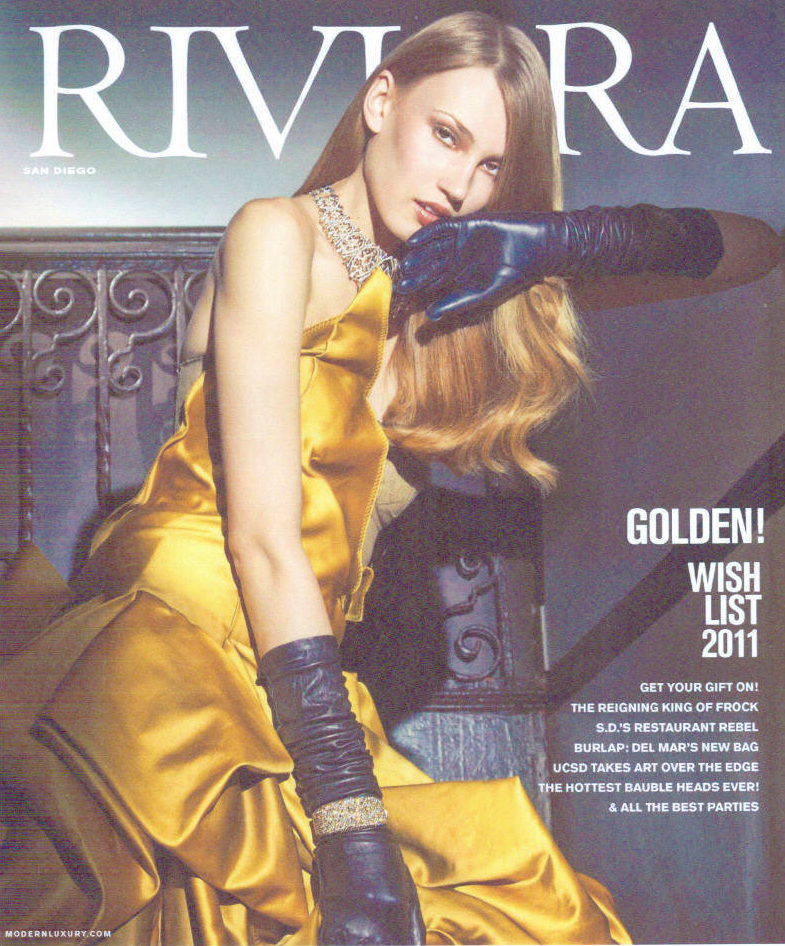 Interview for Riviera Magazine