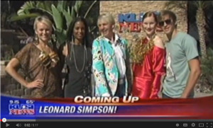 KUSI Showcases SaAm Designs with Style Guy Leonard Simpson